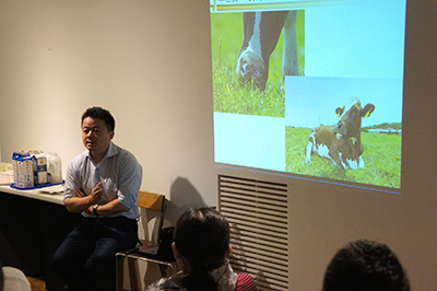 AIR ZOOと山本謙治さんのトークと駒形克己さんのワークショップ_f0171840_15254176.jpg