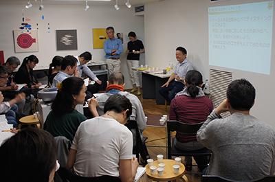 AIR ZOOと山本謙治さんのトークと駒形克己さんのワークショップ_f0171840_15595832.jpg