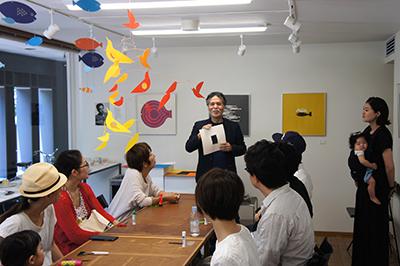 AIR ZOOと山本謙治さんのトークと駒形克己さんのワークショップ_f0171840_16462492.jpg