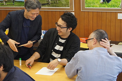 AIR ZOOと山本謙治さんのトークと駒形克己さんのワークショップ_f0171840_16473298.jpg
