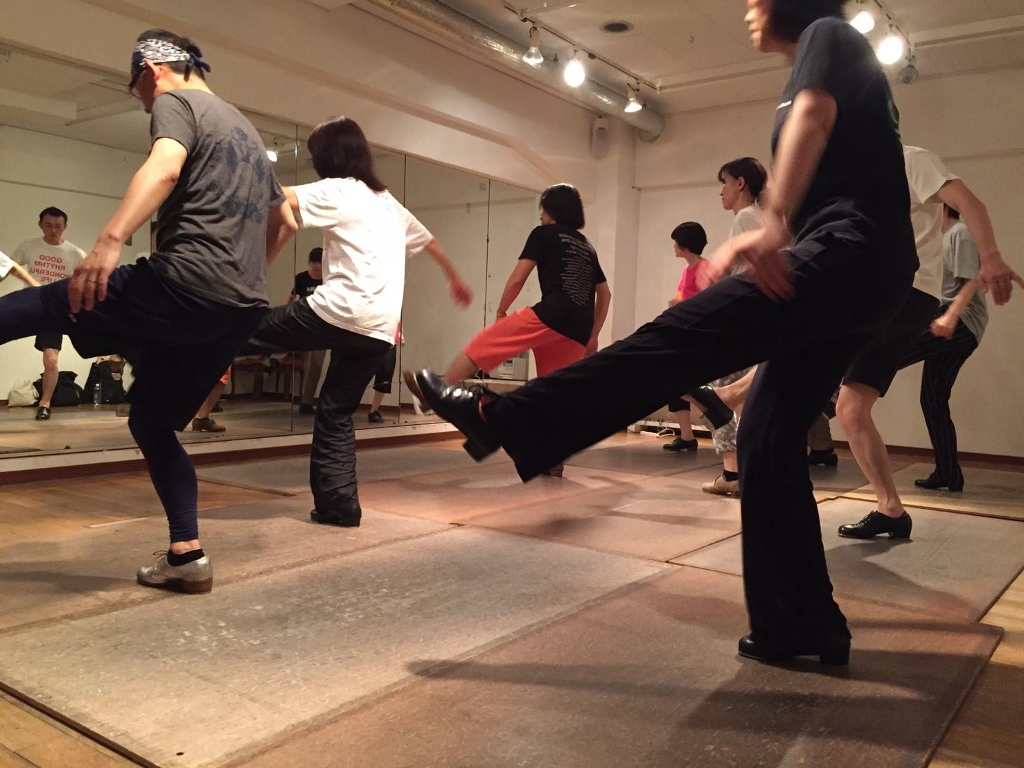 kisekiに向けて  基礎② Ted Levy\'s choreography チーム_f0137346_07434477.jpg