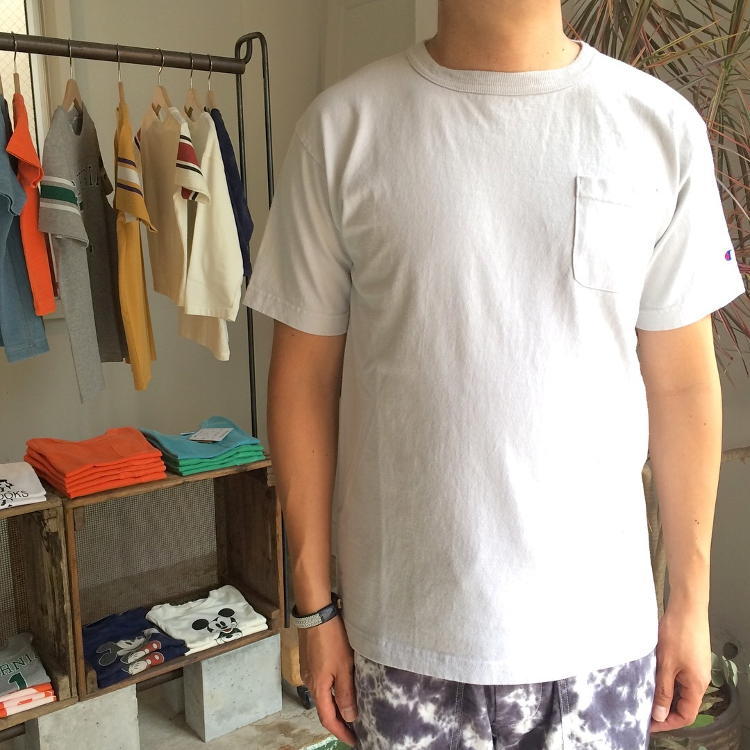 Champion : T1011 US T-SHIRT (with pocket)_a0234452_19201061.jpg