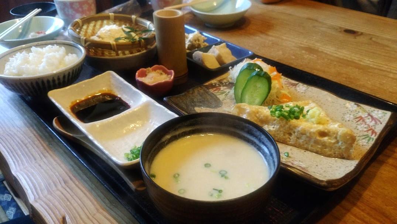 肥後の茶屋へ豆腐料理を食べに行く_a0278866_10124564.jpg
