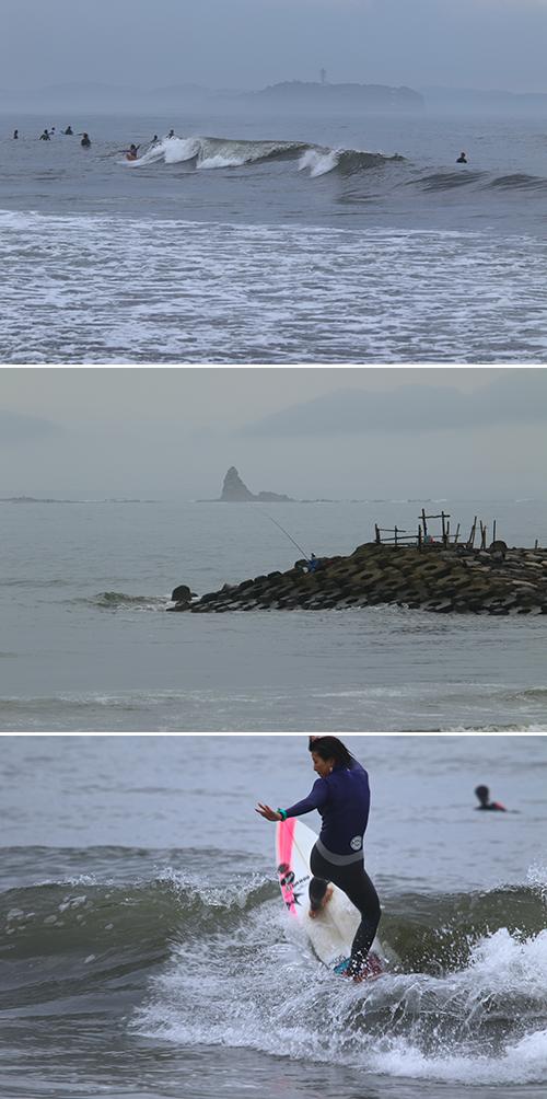 2017/09/26(MON) 曇り空の海辺には.........。 - SURF RESEARCH
