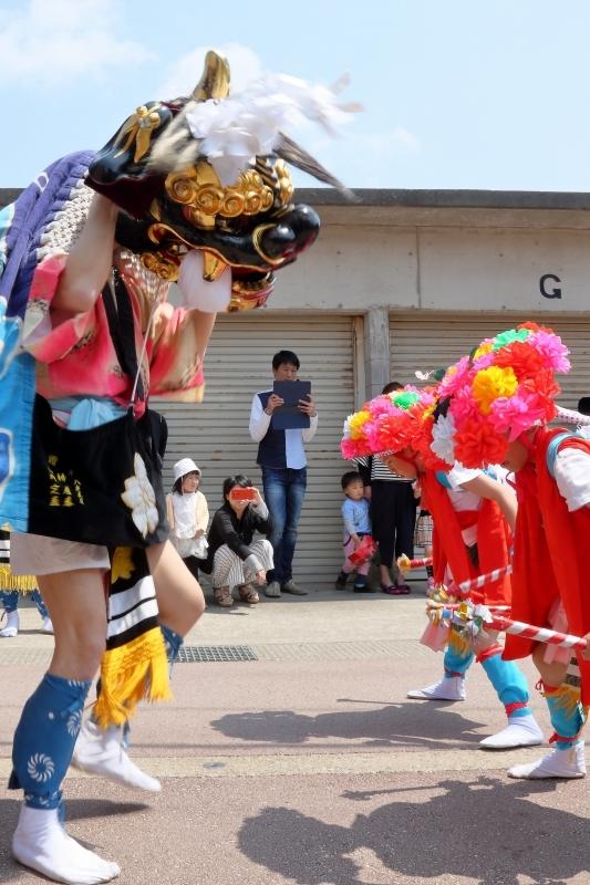 六渡寺の獅子舞 その1_c0196076_16013240.jpg