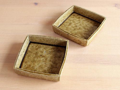 安達健さんの細長いうつわ、箱形のうつわ。_a0026127_15345320.jpg