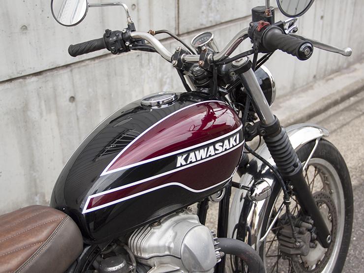 FOR SALE!!!  KAWASAKI W650 CUSTOM  ¥450,000_e0182444_1537332.jpg