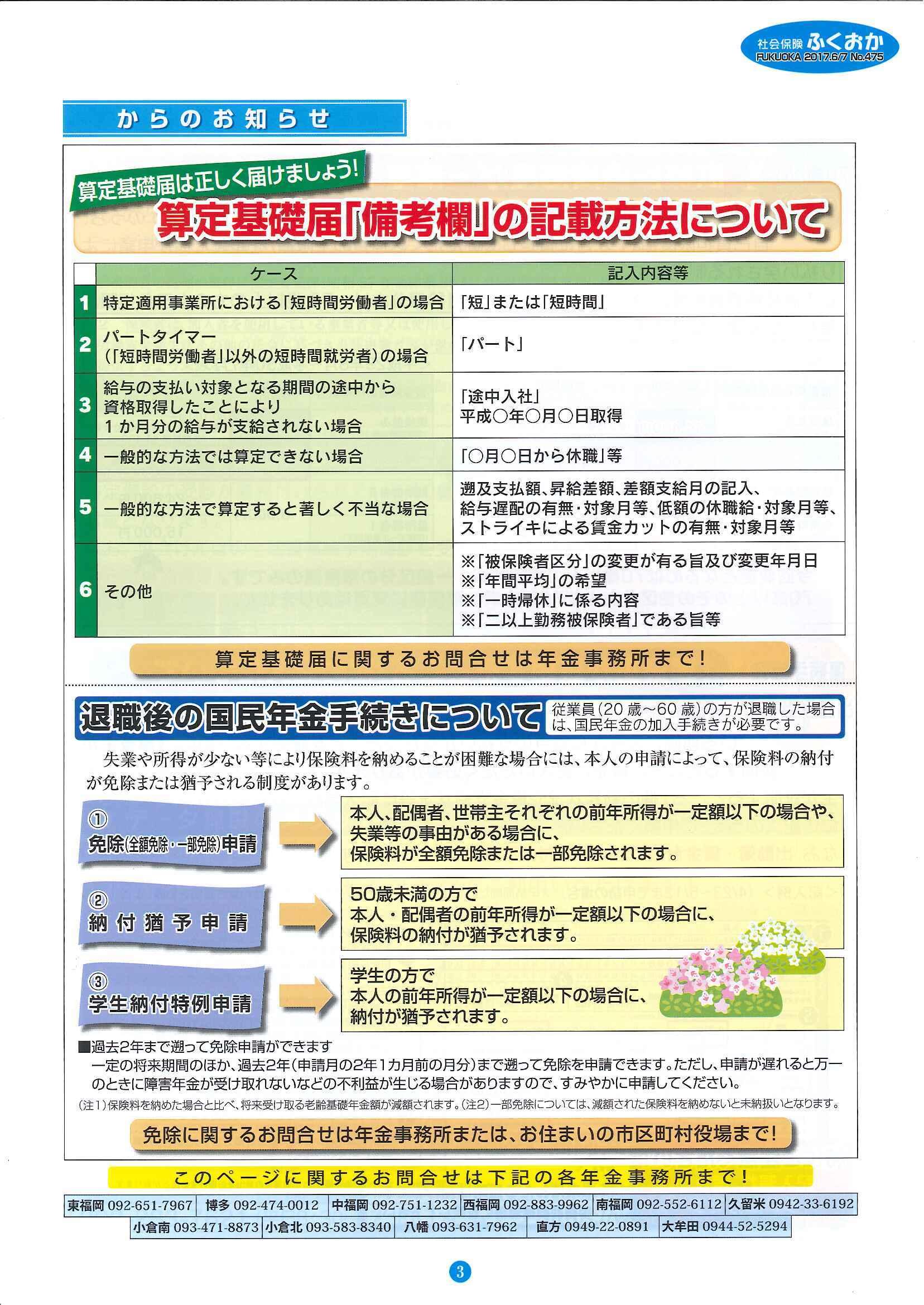 社会保険 ふくおか 2017年 6・7月号_f0120774_15005279.jpg