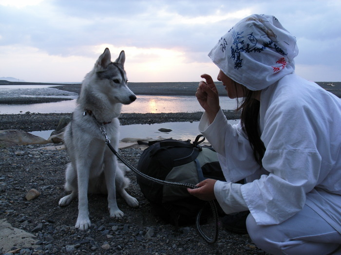 First Pilgrimage for Siberian Husky Hana II, May 4th 2006 (1)_c0049299_21331608.jpg