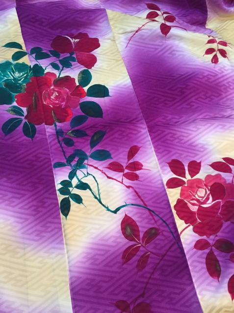 明日から!新宿京王「今昔きもの市」ぼかしが綺麗薔薇着物♪販売商品22_c0321302_12144205.jpg