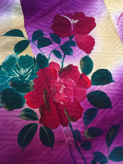 明日から!新宿京王「今昔きもの市」ぼかしが綺麗薔薇着物♪販売商品22_c0321302_12150546.jpg