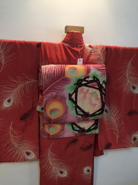 明日から!新宿京王「今昔きもの市」孔雀羽着物♪販売商品26_c0321302_13085899.jpg