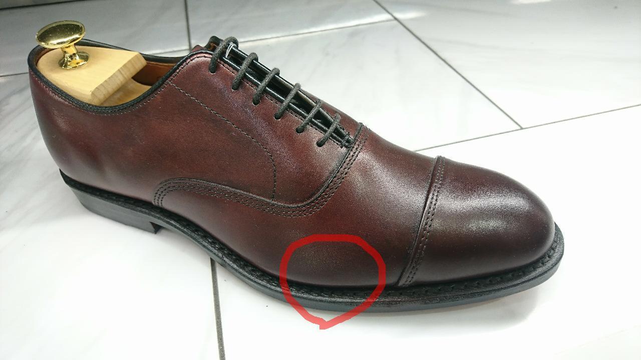 新しい革靴が固くて痛いとき_b0226322_14062868.jpg