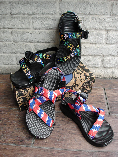 "NEW : Chaco Z1 [Grateful Dead Edition] Made in USA ""Limited"" 2017 SUMMER !!_a0132147_2116960.jpg"