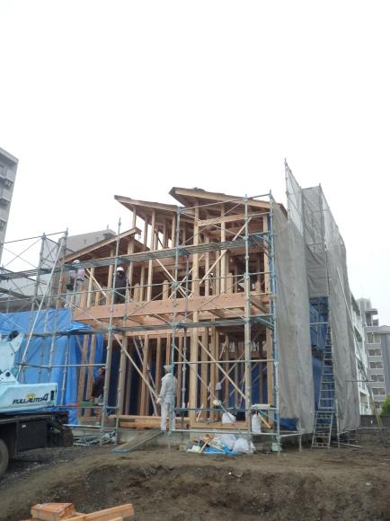 大分市政所T様邸、上棟しました!_e0266187_09514844.jpg