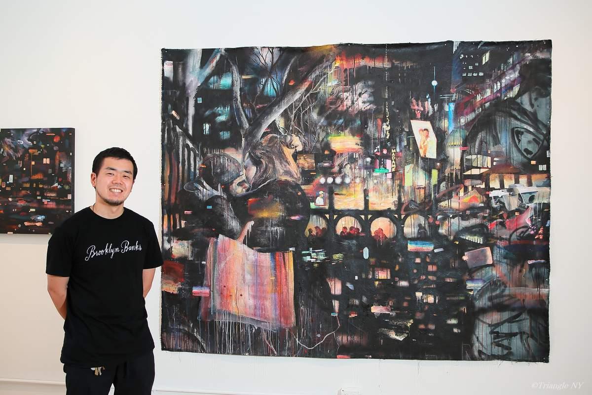 岡安 秀士 Exhibition @ Chelsea New York June 15-28 2017_a0274805_05035657.jpg