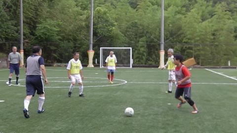 6/25(日) 第5回シニアフットサル at UNOフットボールファーム_a0059812_18031603.jpg