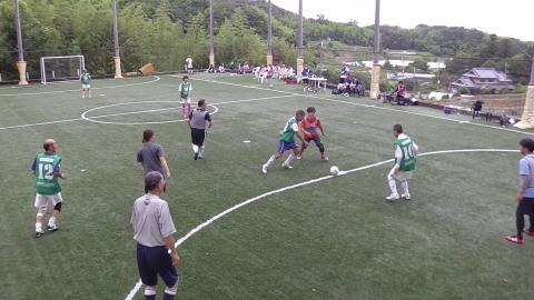 6/25(日) 第5回シニアフットサル at UNOフットボールファーム_a0059812_18032002.jpg