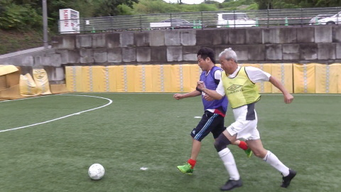 6/25(日) 第5回シニアフットサル at UNOフットボールファーム_a0059812_18032762.jpg