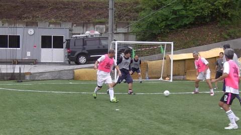 6/25(日) 第5回シニアフットサル at UNOフットボールファーム_a0059812_18033510.jpg