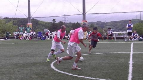 6/25(日) 第5回シニアフットサル at UNOフットボールファーム_a0059812_18034789.jpg