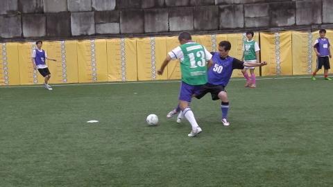 6/25(日) 第5回シニアフットサル at UNOフットボールファーム_a0059812_18043845.jpg