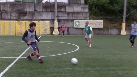 6/25(日) 第5回シニアフットサル at UNOフットボールファーム_a0059812_18045646.jpg