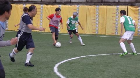 6/25(日) 第5回シニアフットサル at UNOフットボールファーム_a0059812_18050380.jpg