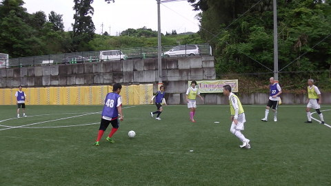 6/25(日) 第5回シニアフットサル at UNOフットボールファーム_a0059812_18050854.jpg