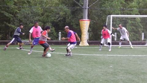 6/25(日) 第5回シニアフットサル at UNOフットボールファーム_a0059812_18051461.jpg