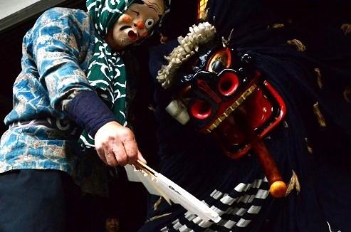 曲り家のチャグチャグ馬コ祭り 篠木神楽 岩手県滝沢市_c0299631_23593666.jpg