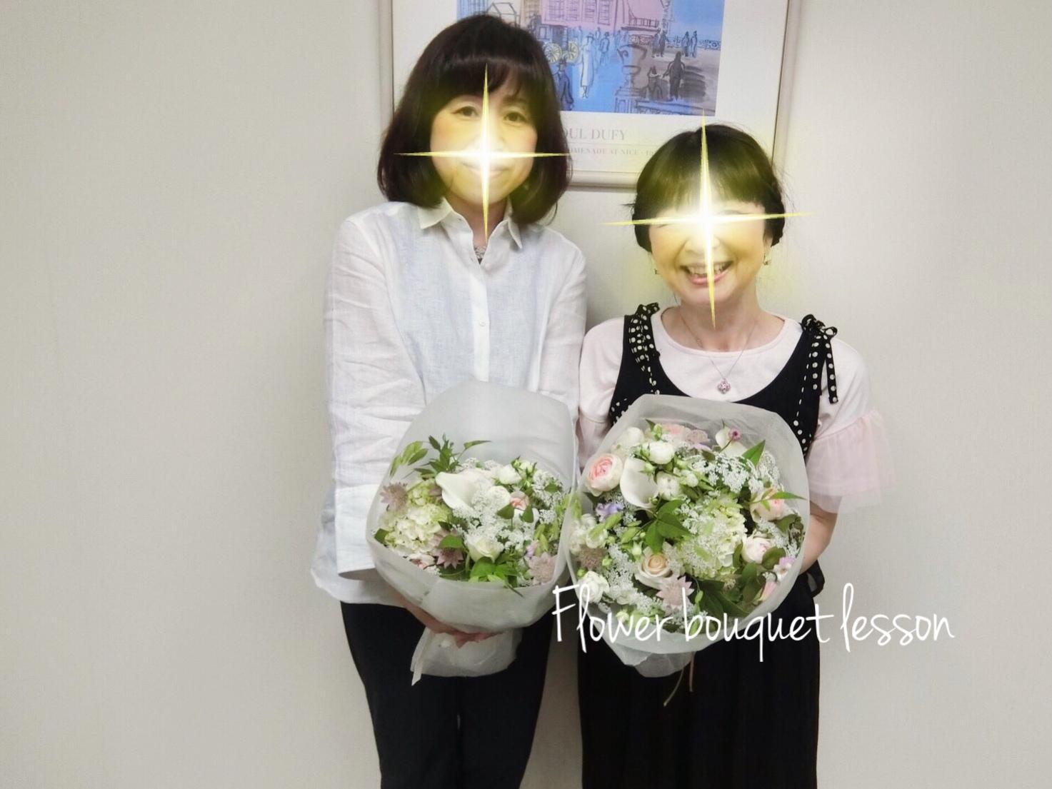 パリスタイル♡フラワーブーケレッスン( ᵔᵒᵔ )♡_a0213806_11203774.jpg