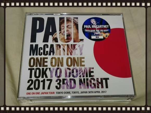 PAUL McCARTNEY / TOKYO DOME 2017 3RD NIGHT_b0042308_16505777.jpg