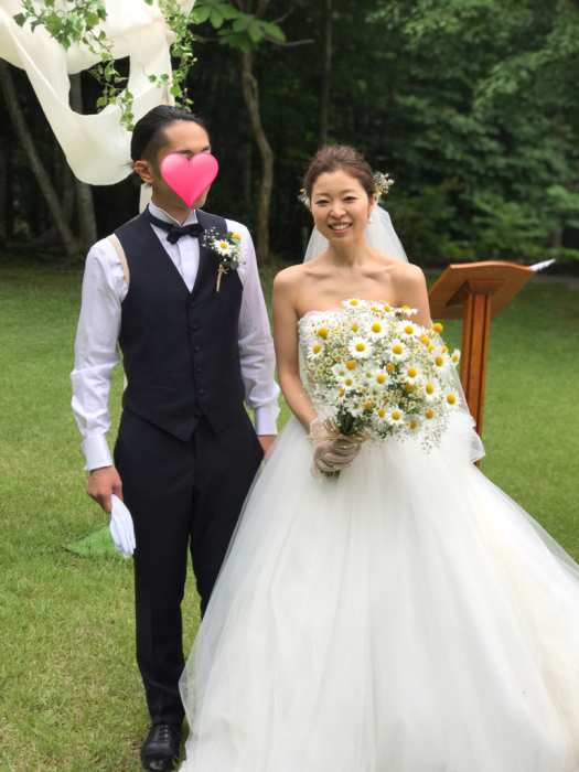 Happy Wedding♡_c0071924_12472129.jpg
