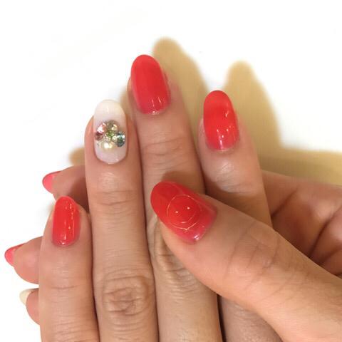 ピンクとオレンジレッド_c0071924_13353963.jpg