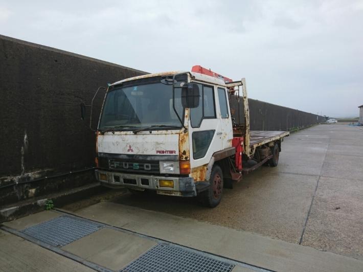 車買い取り 三菱 フソーファイター_b0237229_08400267.jpg