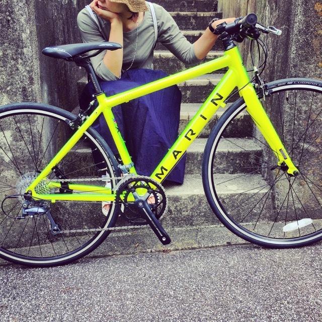 2017 MARIN ARGENTA SE-F LIMITED マリン 限定カラー アルジェンタ おしゃれ自転車 自転車女子 自転車ガール クロスバイク ロードバイク_b0212032_19142242.jpg