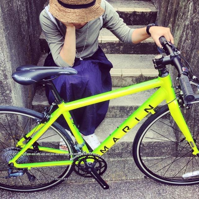 2017 MARIN ARGENTA SE-F LIMITED マリン 限定カラー アルジェンタ おしゃれ自転車 自転車女子 自転車ガール クロスバイク ロードバイク_b0212032_19152754.jpg