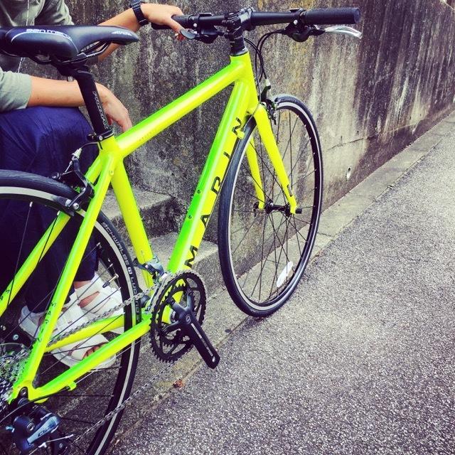 2017 MARIN ARGENTA SE-F LIMITED マリン 限定カラー アルジェンタ おしゃれ自転車 自転車女子 自転車ガール クロスバイク ロードバイク_b0212032_19154757.jpg