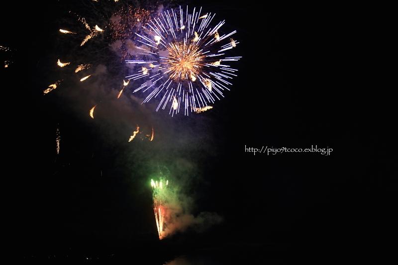 はじめての  fireworks ♪_d0367763_20072435.jpg