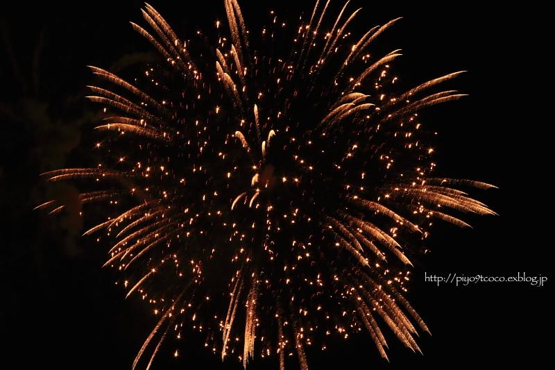 はじめての  fireworks ♪_d0367763_20072525.jpg