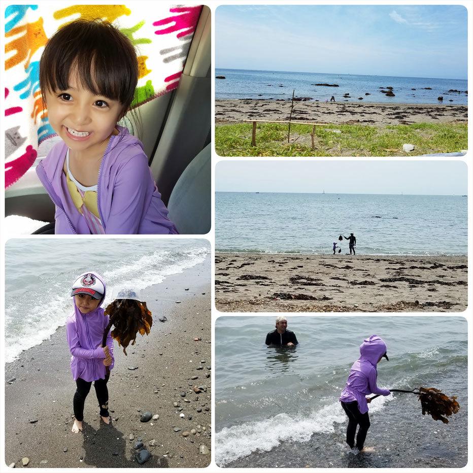 6月は一色海岸に2度行く事が出来ました☆_d0224894_04380675.jpg