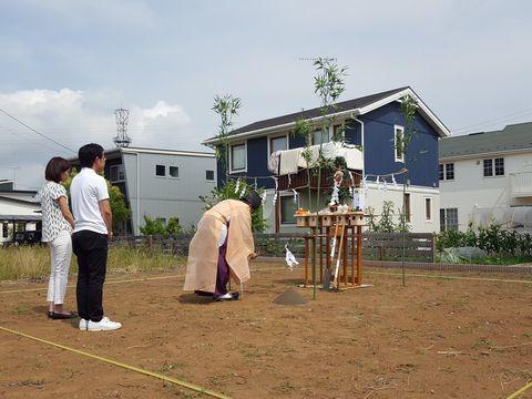 「木造ドミノ住宅」地鎮祭。_a0059217_09532375.jpg
