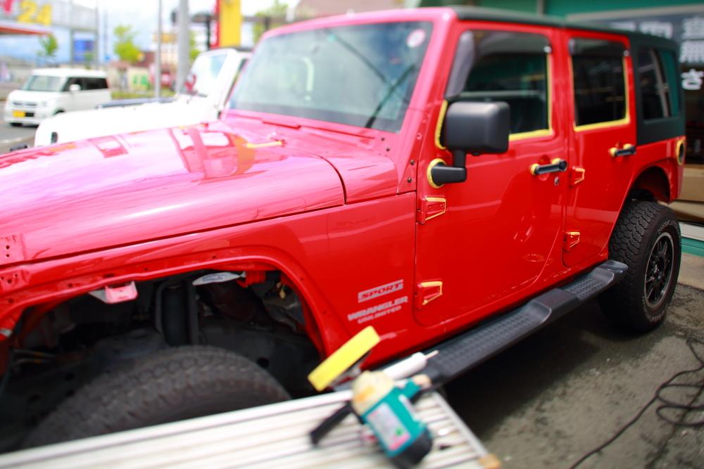 JKU外装磨き作業完了_f0105425_18471415.jpg