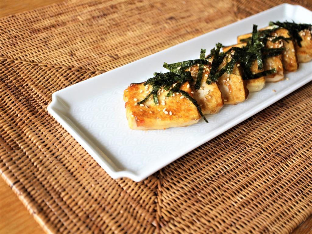 豆腐の磯部焼き_f0220354_11095042.jpg
