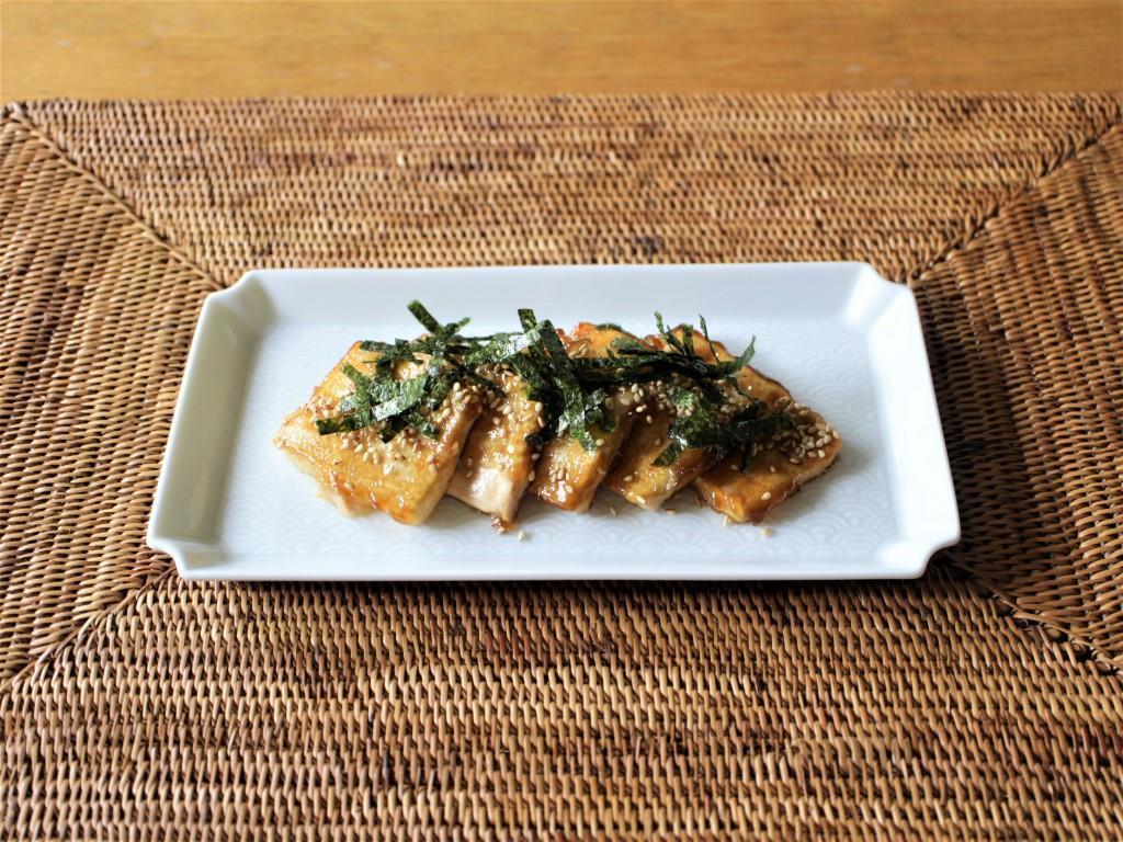 豆腐の磯部焼き_f0220354_11100560.jpg