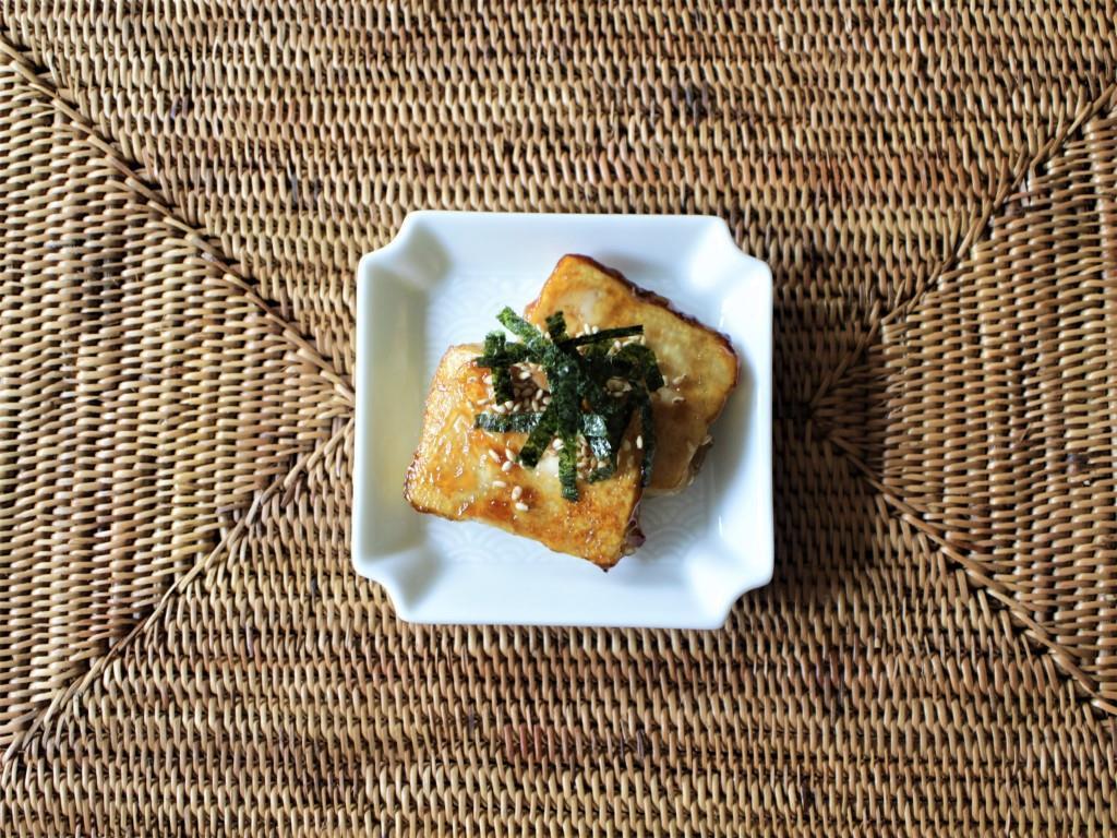 豆腐の磯部焼き_f0220354_11101180.jpg