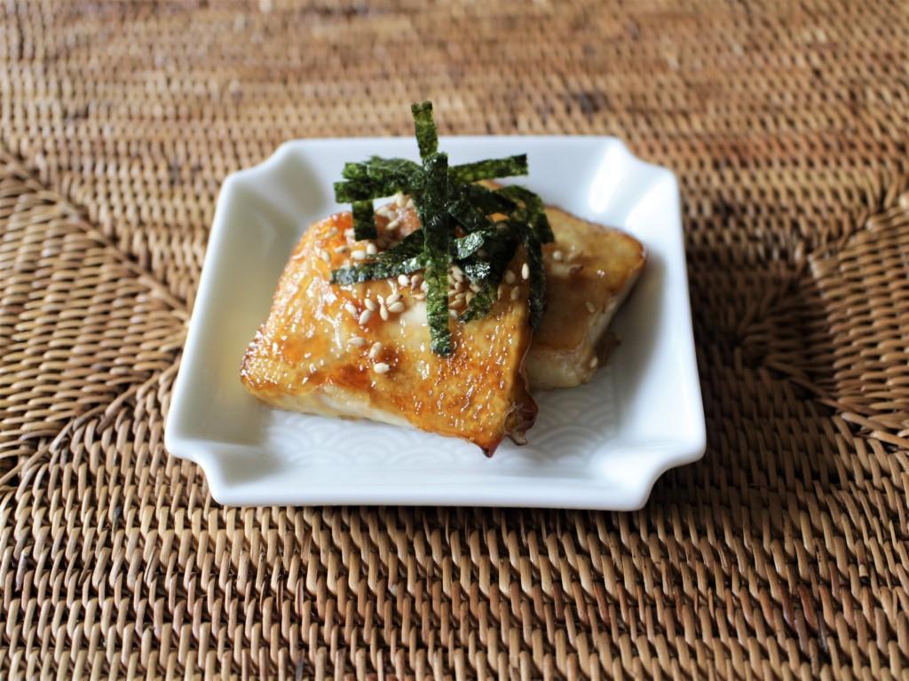 豆腐の磯部焼き_f0220354_11101595.jpg