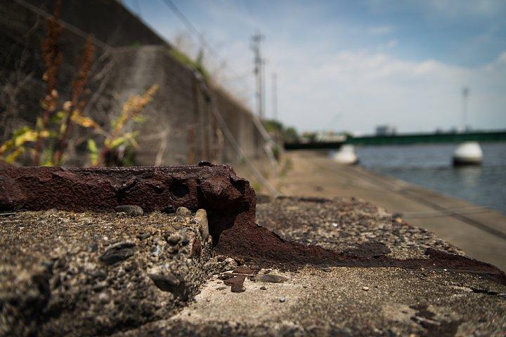 まったりと錆び逝く運河_d0353489_23455559.jpg