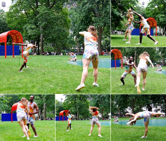 音楽、ダンス、詩をアート作品上で楽しむ「Prismatic Park」、NYのマディソン・スクエア・パークで開催中_b0007805_5285231.jpg